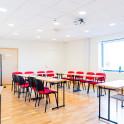 Mötesrummet Aklejan ligger på plan 3 i Huddinge Konferenscenter