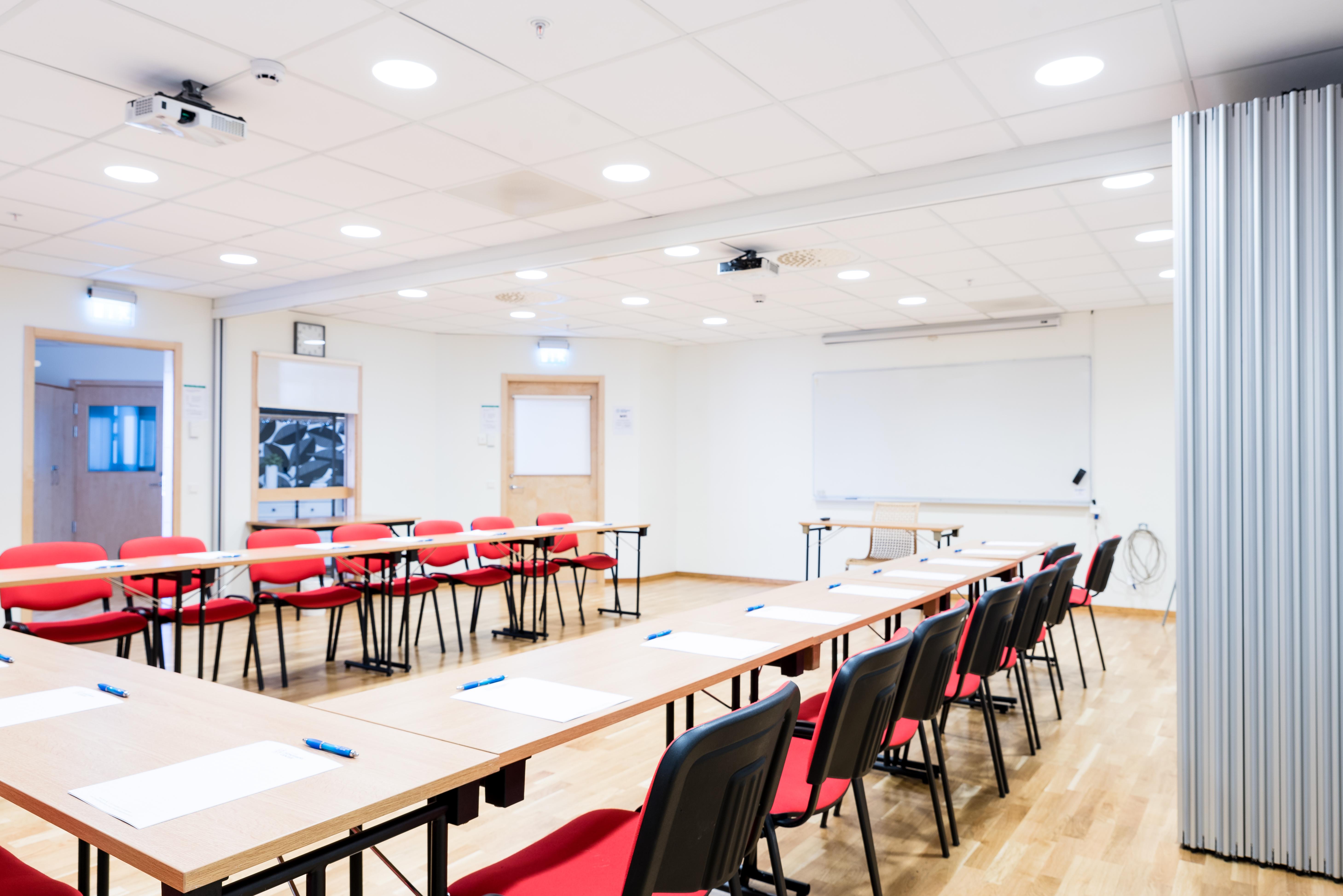 Blåklinten, en möteslokal centralt i Huddinge som lämpar sig väl för kurser och utbildningar
